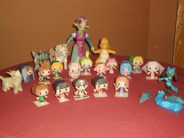 Our Papercraft Collection by AnimeGang