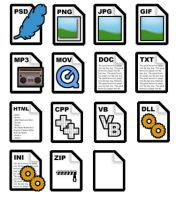 Phat File Type Icons by bhound89