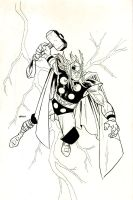 Thor Commission by MatthewWarlick