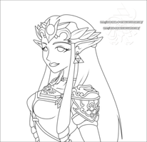 ZPP: Zelda - lines by Lady-Zelda-of-Hyrule