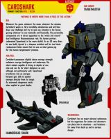TARGETMASTER CARDSHARK by F-for-feasant-design