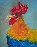 Rooster by ladindequichante