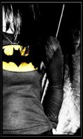 I am the Night. I'm Batman. by LeafeeLeBeau