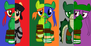 TMNT What My Cutie Mark Is Telling Me by chalatso