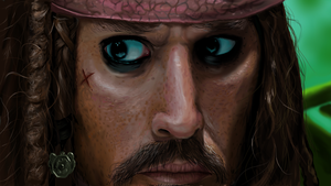 Jack Sparrow by xric
