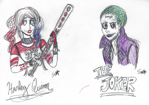 *Suicide Squad: Harley Quinn and the Joker* by Sartisian
