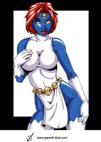 Mystique 9 by Garrett Blair by Mythical-Mommy
