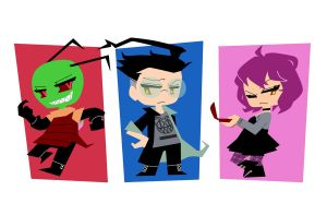 Chibi Style Test (feat. Invader Zim) by segamainia