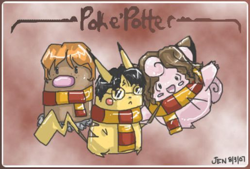 Poke'Potter by Jennifire