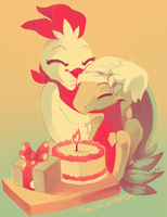 Happy Birthday Talon! by MusicalCombusken
