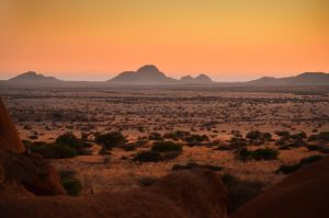 Sunset at Spitzkoppe by suffer1