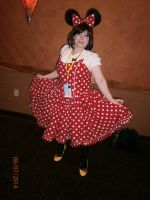 Minnie mouse by enterprisedavid