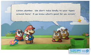 Paper Mario Wii U Screenshot by preetard