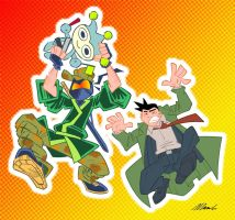 Captain Ninja vs Gumshoe by CaptainNinja