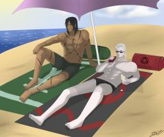 Hidan and Kakuzu Day Off by AnimeFreak00910