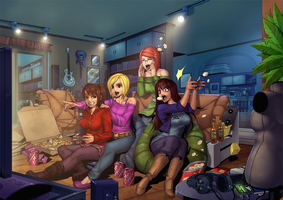 Gaming Pic by ComiPa