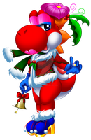 Christmas Collab: Holiday Rosa by Bowser2Queen