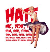 Hate is... by Charlotte-Havok