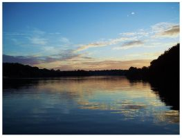 Sunset Tellico by CrystalMarineGallery