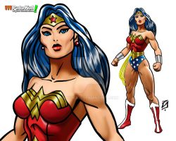 Wonder Woman Comic B3 by patokali
