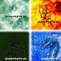 the four elements by azerlord