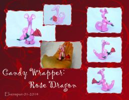 Candy Wrapper Rose Dragon  by MalaCembra