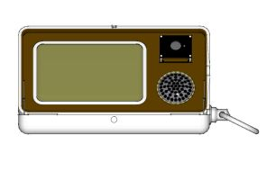 Steampunk mobile phone sketchup output 07 by Technohippy