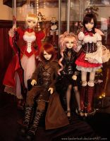 My BJD Family by keelerleah