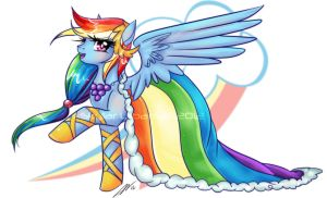 Grand Galloping Gala Rainbow Dash by Soul-Soar