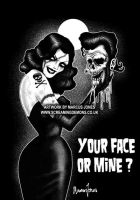 Your Face or Mine ? by MarcusJones
