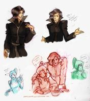 More Sketches - LOK by ingridsailor2009