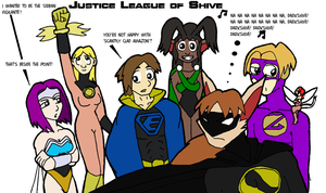 Justice League of Shive by DaffydWagstaff