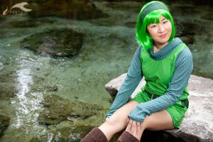 The Legend of Zelda: Saria by elysiagriffin
