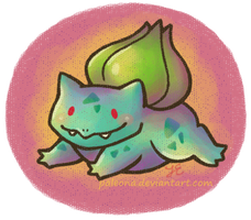 Bulbasaur 001 by Paleona
