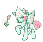 Cupcake pony adopt auction - open by OfficerMittens