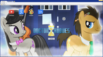 Doctor Whooves (Google Chrome theme) by AdrianImpalaMata
