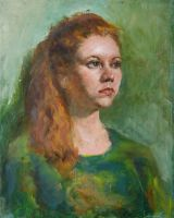 Portrait of Anna by SergeiKrylov