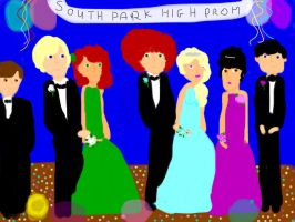 South Park high Prom by freacls
