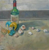 Still Life with Shells by UlaFish