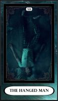 Hannibal Tarot: XII - The Hanged Man by DarkFairyoftheWood