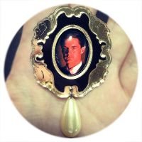 Dale Cooper Brooch by asunder