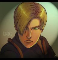 Leon - RE4 by lux-rocha