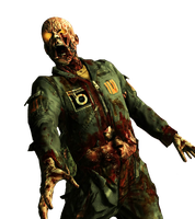 Call of Duty Zombie Render by TheNaziZombiePro