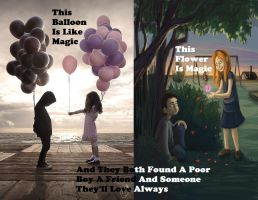 The Balloon and The flower by the-publisher