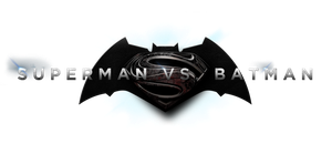 BATMAN VS. SUPERMAN - LOGO PNG by MrSteiners