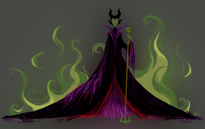 Maleficent by Aveku-chan-Kataang