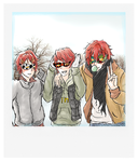 Marui brothers by naniAru