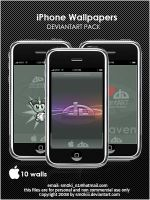 iPhone deviantART Wall pack by sm0kiii
