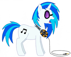 Vinyl Scratch by CatIron