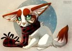 Favourite Scarf by Valixy